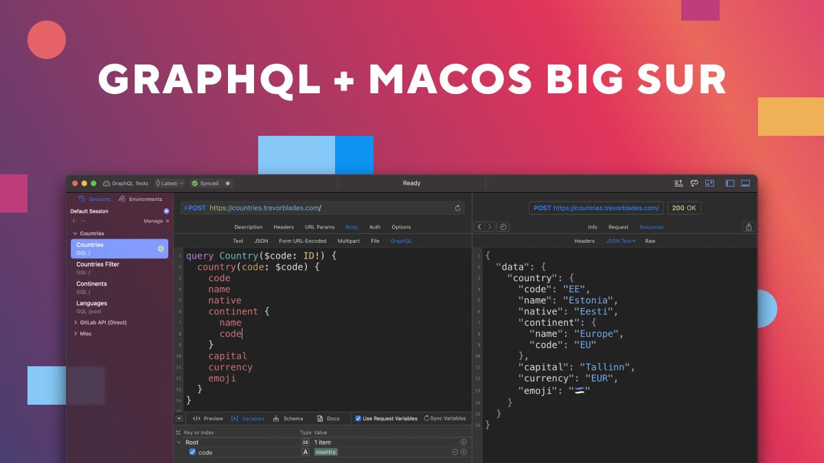 Paw 3.2 — GraphQL & macOS Big Sur